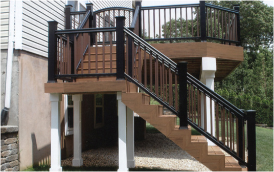 second story deck stair designs stlfamilylife